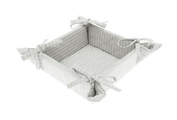 County ticking bread basket suffolk grey - Walton &amp Co