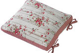 Rose cottage cushion cover & ties