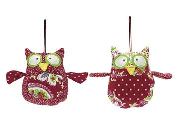 Hanging owls (set of 2) - Walton &amp Co