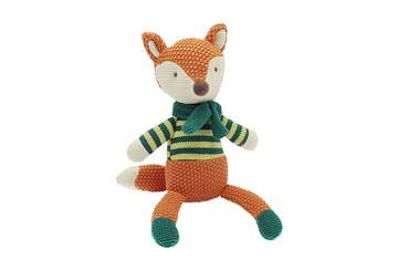 Knitted fox - Frankie - Walton &amp Co