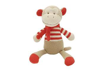 Knitted monkey - Marcel - Walton &amp Co