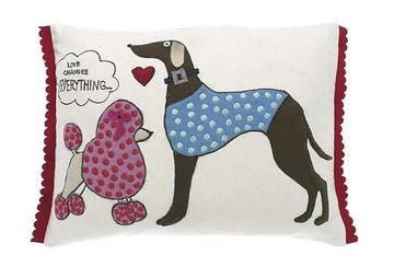 Scrapbook love changes cushion cover - Walton &amp Co