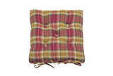 Highland seat pad with ties