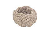 Rope napkin ring linen (set of 4)