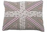 Scrapbook jack cushion cover mauve